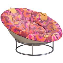 1970s 'Bird's Nest' Verner Panton Style Lounge Chair