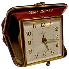 English Miniature Purse Travel Clock