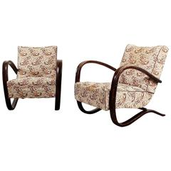 Set of Lounge Chairs by Jindrich Halabala