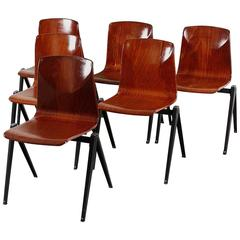 Pagwood Chairs from Pagholz Flötotto, Set of Six