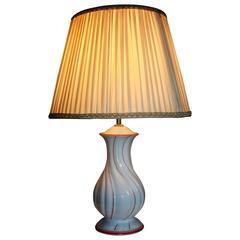 Rosenthal Porcelain Table Lamp, circa 1957
