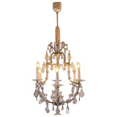 Rare, delicate Original Maria Theresien Chandelier 18th Century 1790 - restored