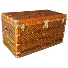 1930s Louis Vuitton Monogramm Steamer Trunk
