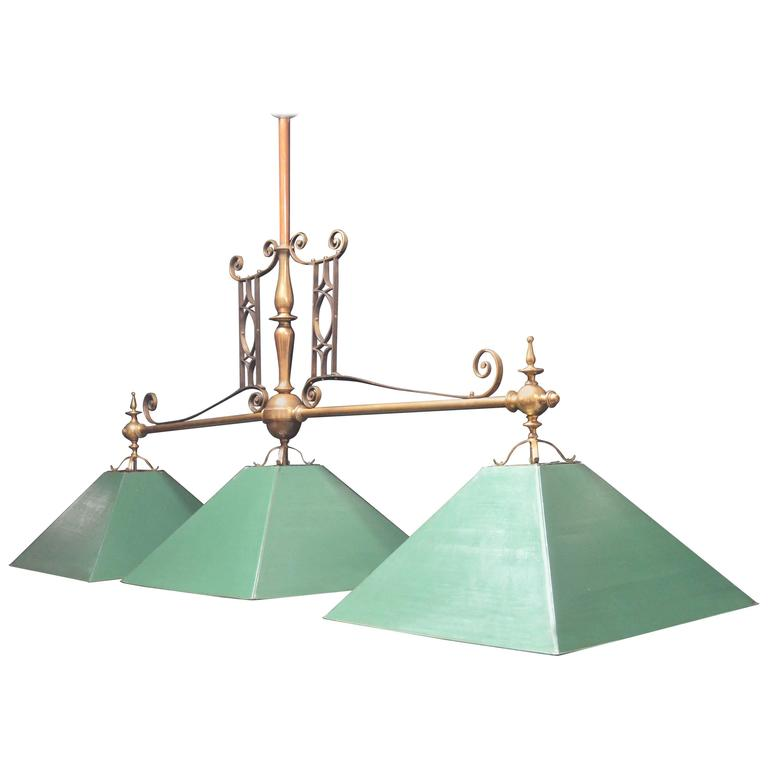 Billiard snooker pool table light circa 1900 at 1stdibs billiard snooker pool table light circa 1900 for sale keyboard keysfo Images