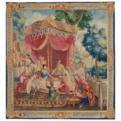Beauvais Royal Tapestry from the Series of the Emperor of China's Story