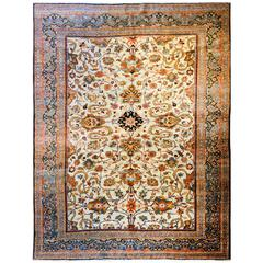 Exceptional Early 20th Century Khorassan Rug