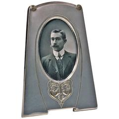 W.M.F Art Nouveau Silver Plate Frame, Germany, circa 1910