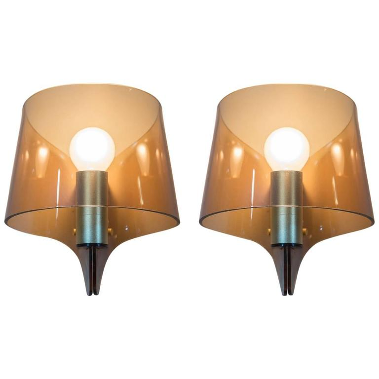 French Pair of Wall Sconces