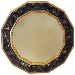 Unique Large Modern Geometric Mirror