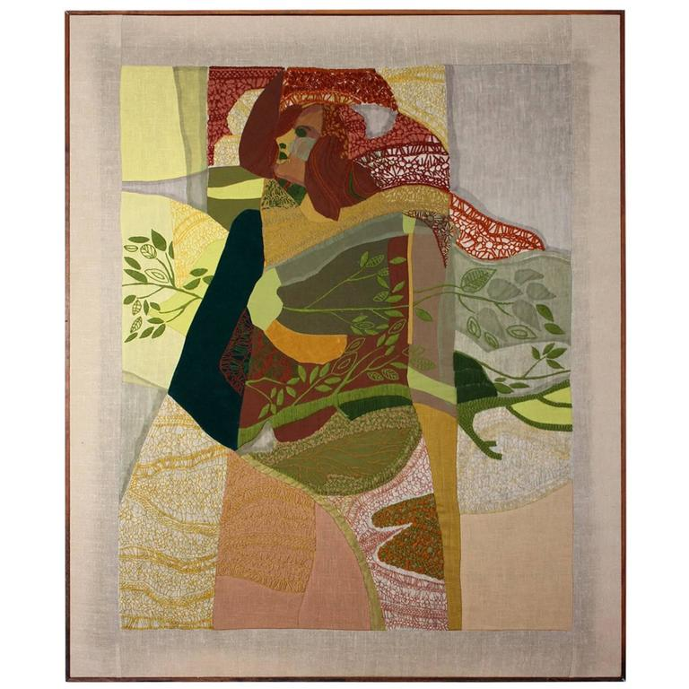 Carol Hansen Wagner Tapestry 1960s California Design