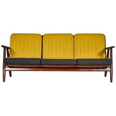 Hans J. Wegner for GETAMA Cigar Sofa with Reversible Cushions