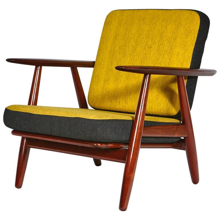 Hans J. Wegner for GETAMA Cigar Chair with Reversible Cushions