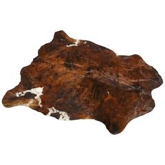 Argentinian Natural Brown Cowhide Rug