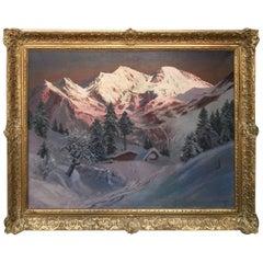 """""""Sun Setting on the Tyrol"""" by Alois Arnegger"""