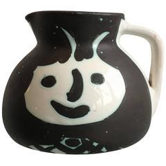 "Pablo Picasso, Madoura, Turned Ceramic Pitcher ""Heads"", 1956"