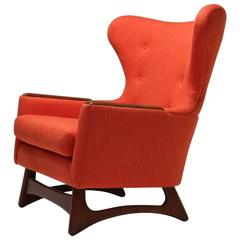 Mid-Century Adrian Pearsall Papa Bear Style Chair