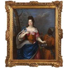 Studio of Pierre Gobert, Portrait of Madame De Maintenon