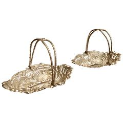 Pair of Victorian Bon Bon Baskets by Marks and Cohen, 1899