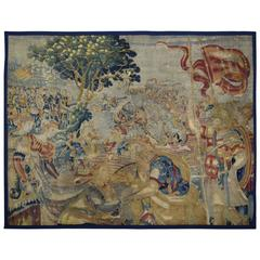 Exceptional 16th Century Flemish Tapestry Panel