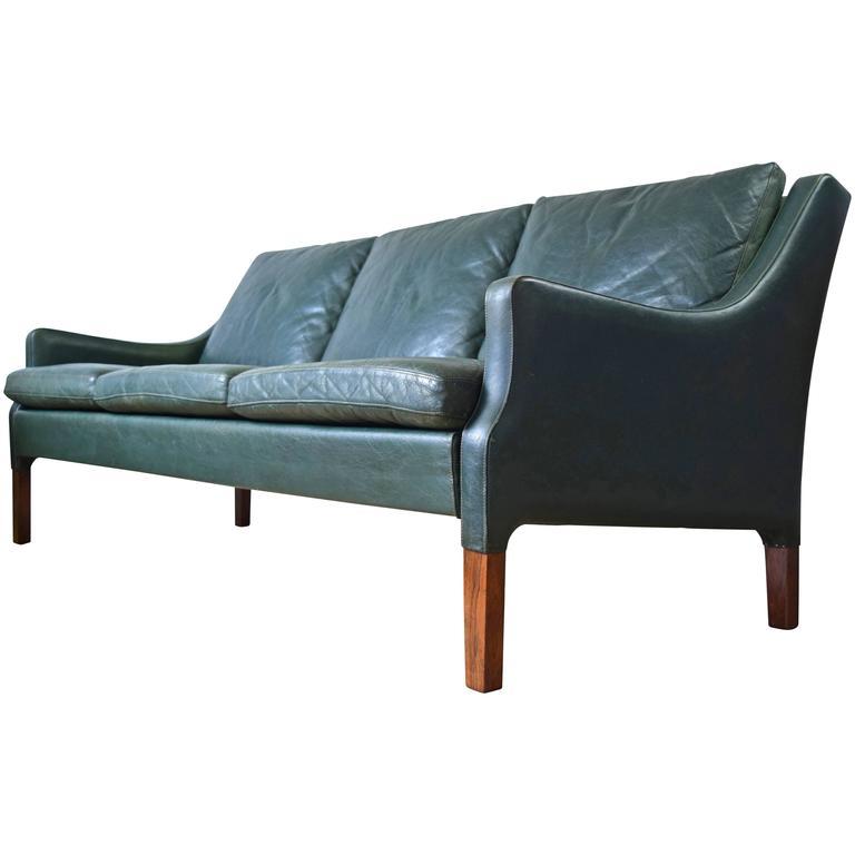 Danish vintage sofa by rud thygesen for vejen polster at for Sofa polster