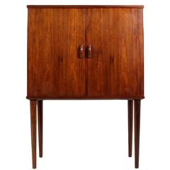 Mid-Century Danish Rosewood Cocktail Cabinet