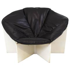 Very Rare Pierre Paulin 678 Spider Lounge Chair for Artifort, 1965