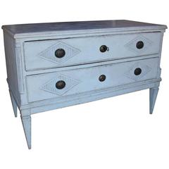 18th Century Swedish Gustavian Period Painted Chest of Drawers