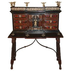 """17th Century """"Baroque"""" Cabinet on Stand Dating from circa 1690"""