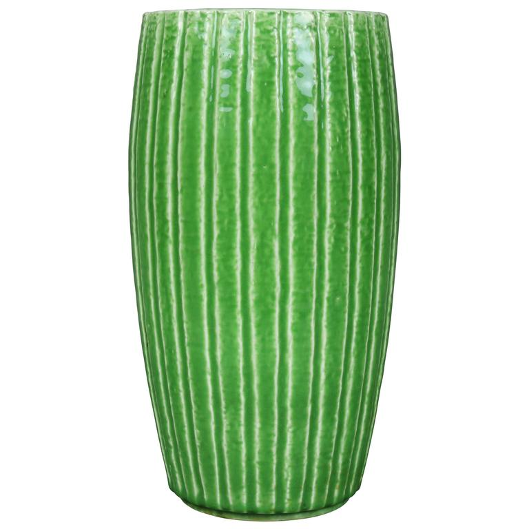 Gunner Nylund Chamotte Pottery Vase