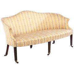 Regency Camelback Sofa, England, circa 1795