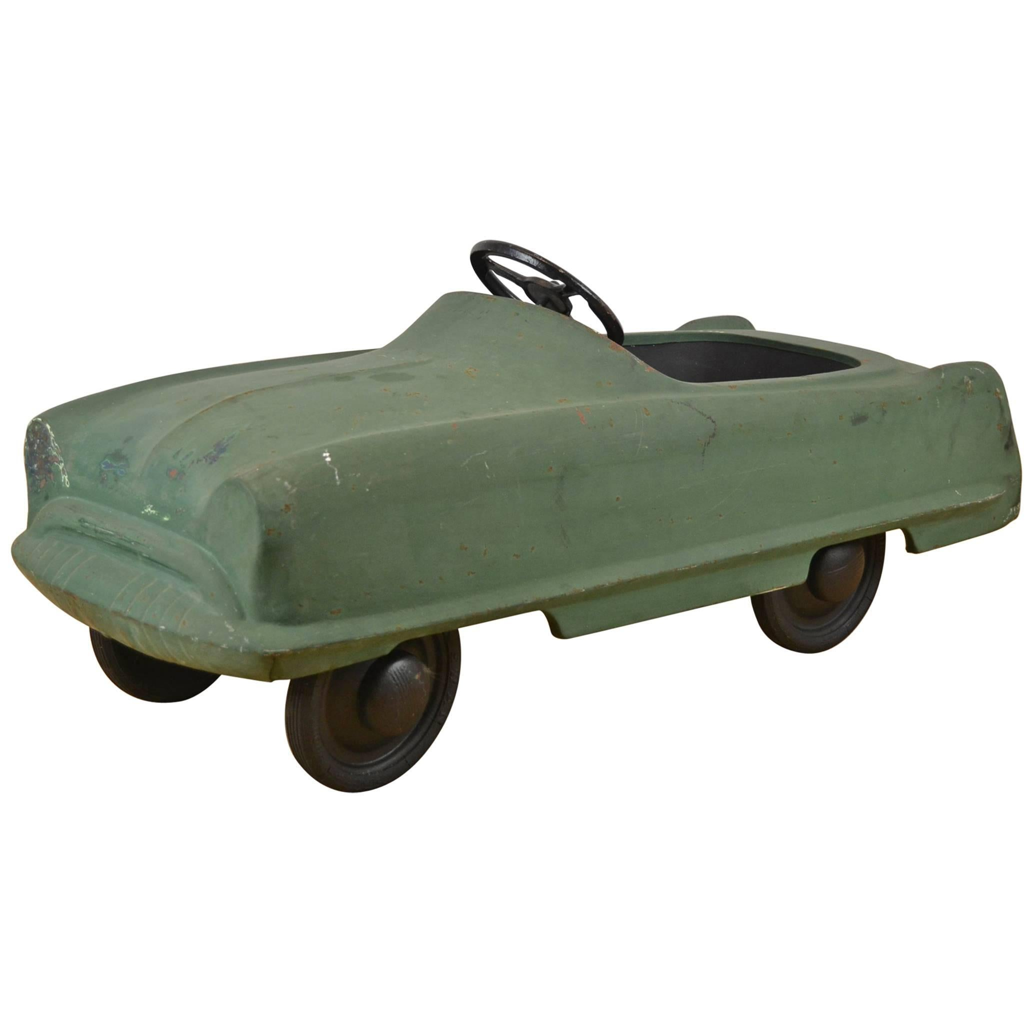 Garton Kidillac Pedal Car, Steel, 1950s , USA