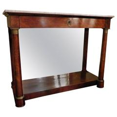 Charles X Console Table, France, circa 1820