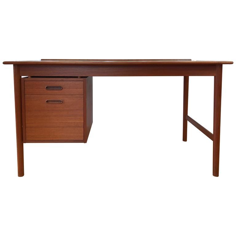 Folke Ohlsson For Dux Model 541 Teak Writing Desk For Sale