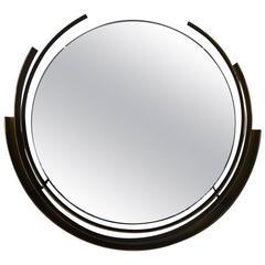 Curtis Jeré Brass Round Mirror
