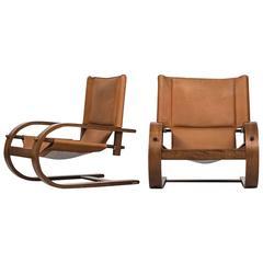 Gionathan de Pas & Donato D'Urbino & Paolo Lomazzi Easy Chairs by Poltronova