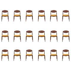 Erik Buck Dining Chairs by Vamo Møbelfabrik in Denmark