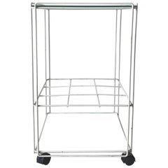 Bar Cart, trolley, attr. to Max Sauze 1960s