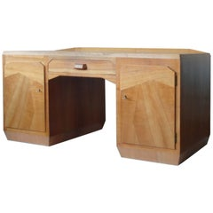 Anthroposophical Wooden Desk Attributed to Felix Kayser, Germany, circa 1930