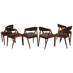 Mid-Century Dining Chairs by Kai Kristiansen