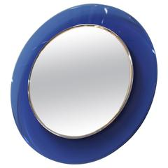Model 1669 Max Ingrand Per Fontana Arte Round Mirror