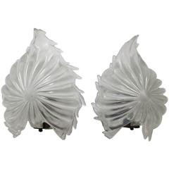 Ercole Barovier Pair of Appliques