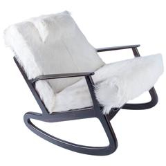Rocking Chair in the Manner of Vladimir Kagan