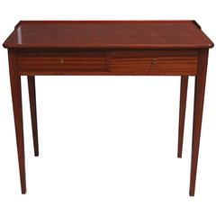 Mid-Century Danish Writing Desk in Teak Wood