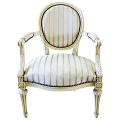Elegant Antique Armchair from France, circa 1860
