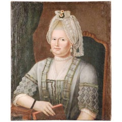 18th Century Baroque Portrait of a Noble Lady