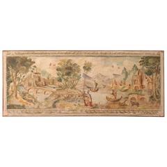 20th Century Italian Neoclassical Landscape Painting