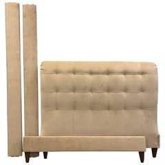 hollywood regency tufted queen