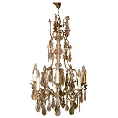 19th Century Louis XV Style French Chandelier