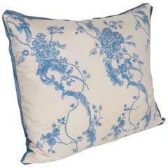 A Rococo Style Fortuny Fabric Cushion