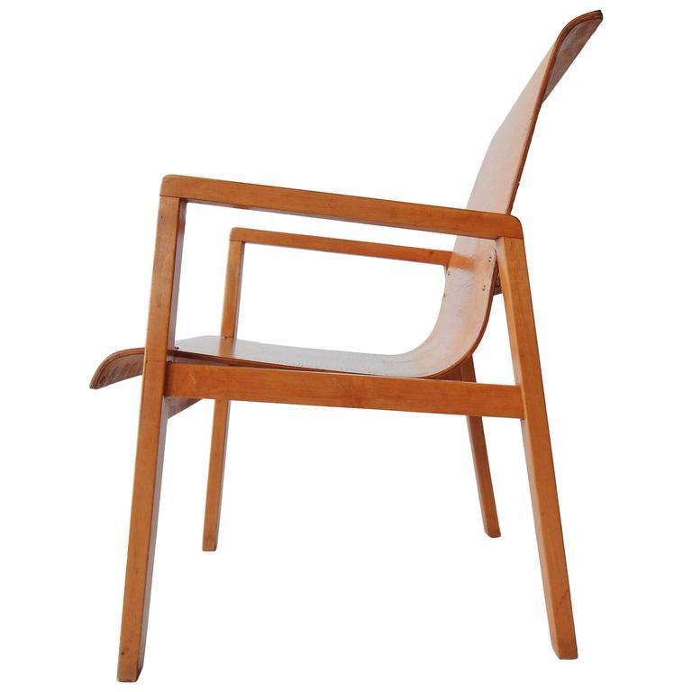 Alvar Aalto Hallway Chair No 403 For Finmar At 1stdibs